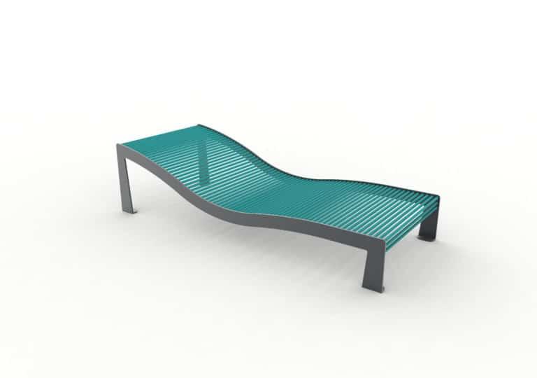 Un bain de soleil TUB bleu