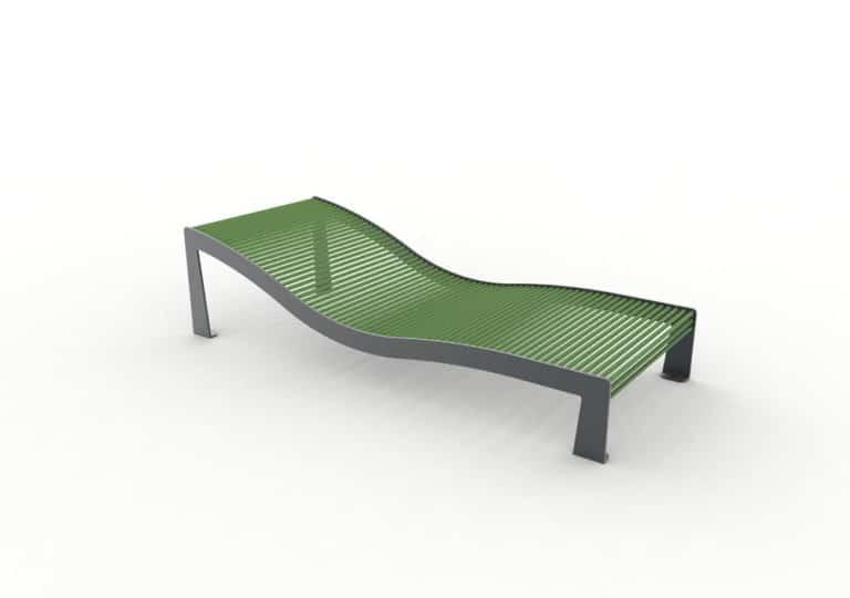 Un bain de soleil TUB vert