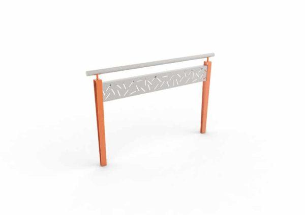Une barrière LUD orange