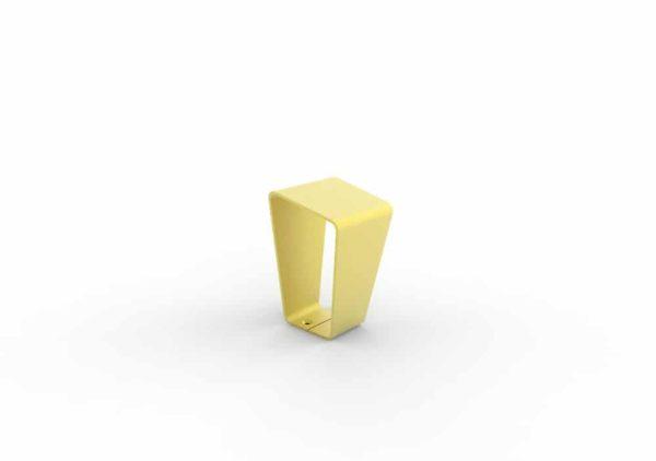 Une borne LUD jaune