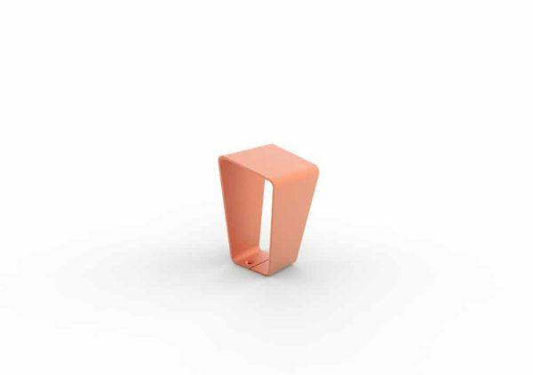 Une borne LUD orange