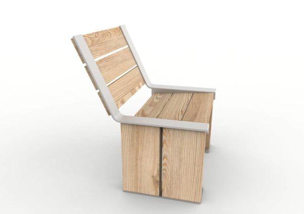 Une chaise NUT vue de profil