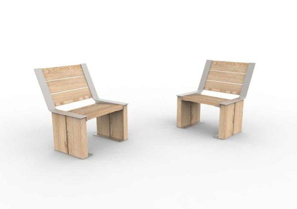 Deux chaises NUT
