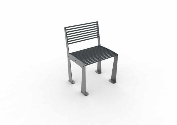 Une chaise TUB grise