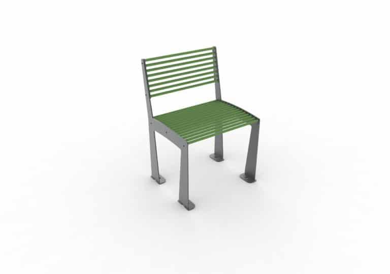 Une chaise TUB verte