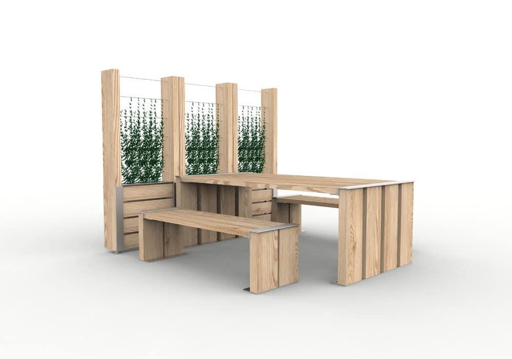 jardini re treillage nut nos mobiliers urbains. Black Bedroom Furniture Sets. Home Design Ideas