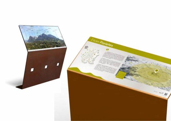 Rendu 3D d'un pupitre et table de lecture ICARE