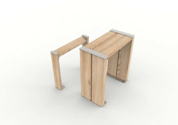 Une table bar NUT avec son assis-debout NUT