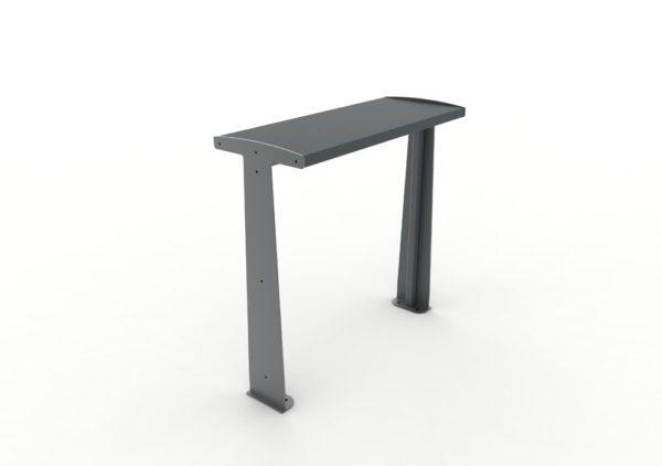 Une table bar TUB grise