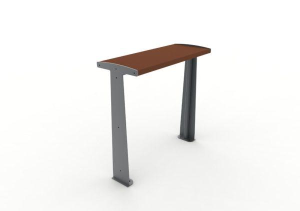 Une table bar TUB marron