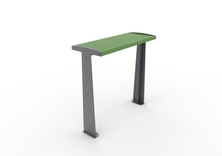 Une table bar TUB verte