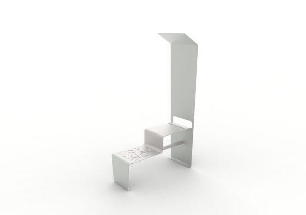 Une table connectée LUD grise