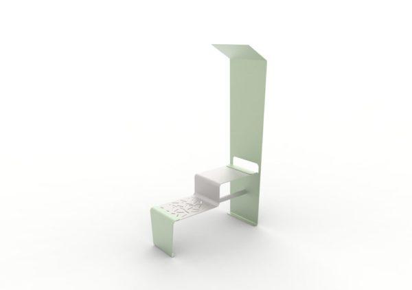 Une table connectée LUD verte