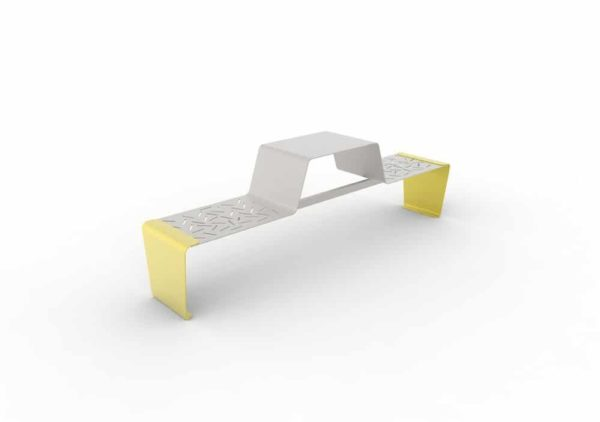 Une table gigogne duo LUD jaune