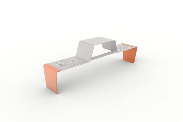 Une table gigogne duo LUD orange