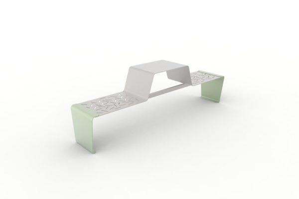 Une table gigogne duo LUD verte