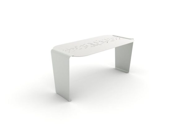Une table LUD grise