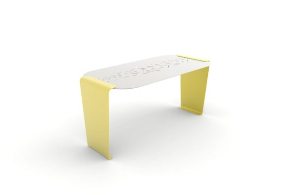 Une table LUD jaune