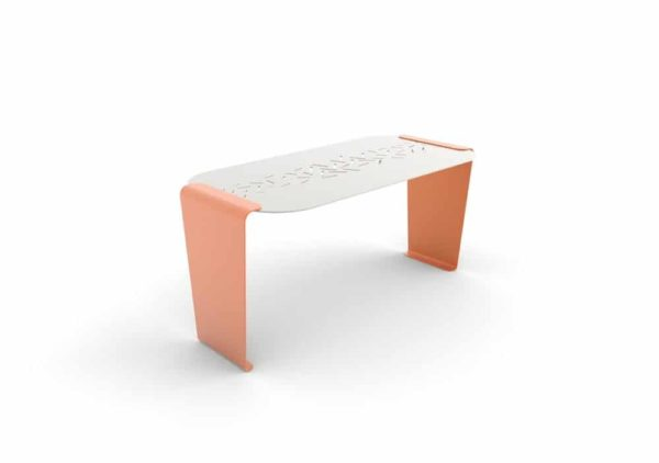Une table LUD orange