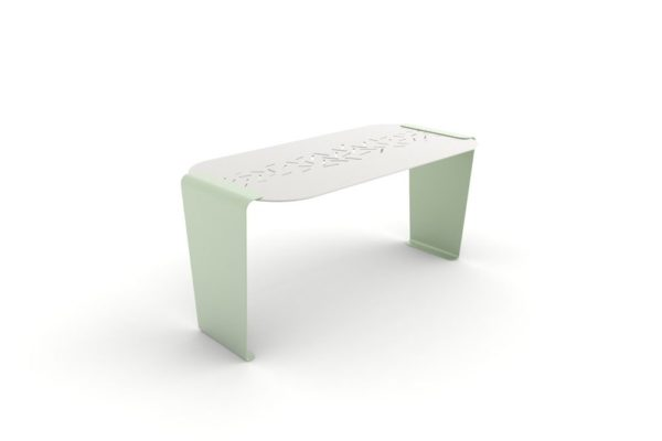 Une table LUD verte