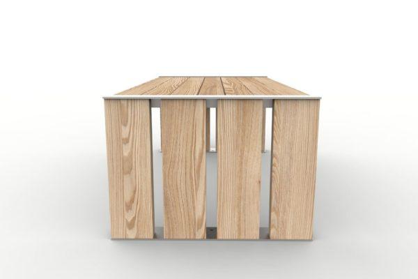 Une table NUT vue de profil