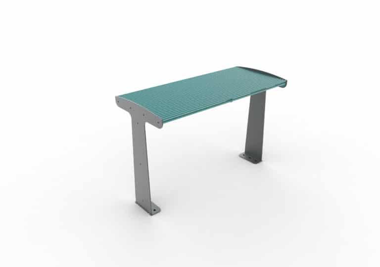 Une table TUB bleue