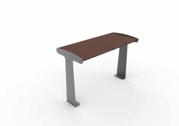 Une table TUB marron