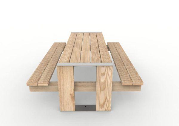Une table pique-nique NUT vue de côté