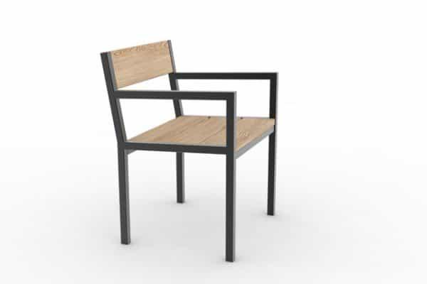 Un fauteuil PUR classique
