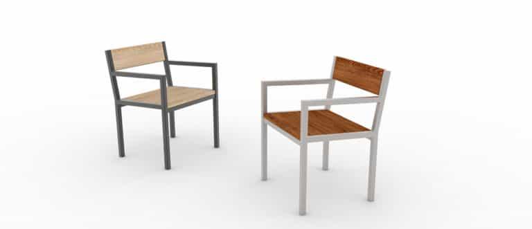 Deux fauteuils PUR : à gauche, un classique et à droite, un haut-de-gamme