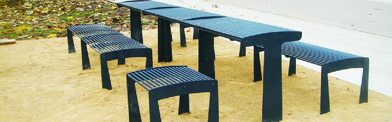 TUB, le mobilier urbain choisi par l'université de Strasbourg