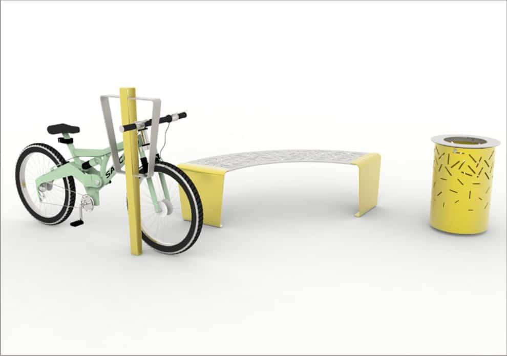 mobilier urbain modulable