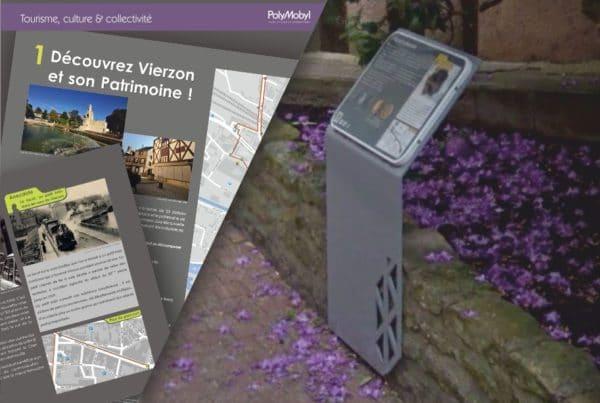 projet signalétique polymobyl pour ville de vierzon