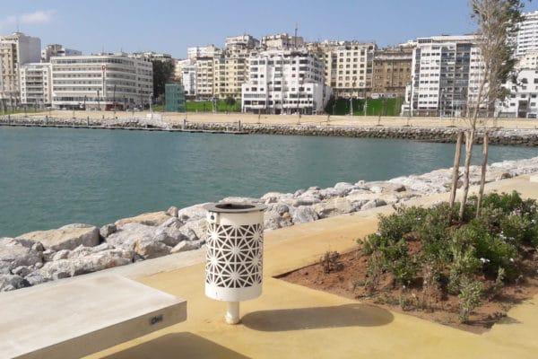image aménagement urbain marina de tanger