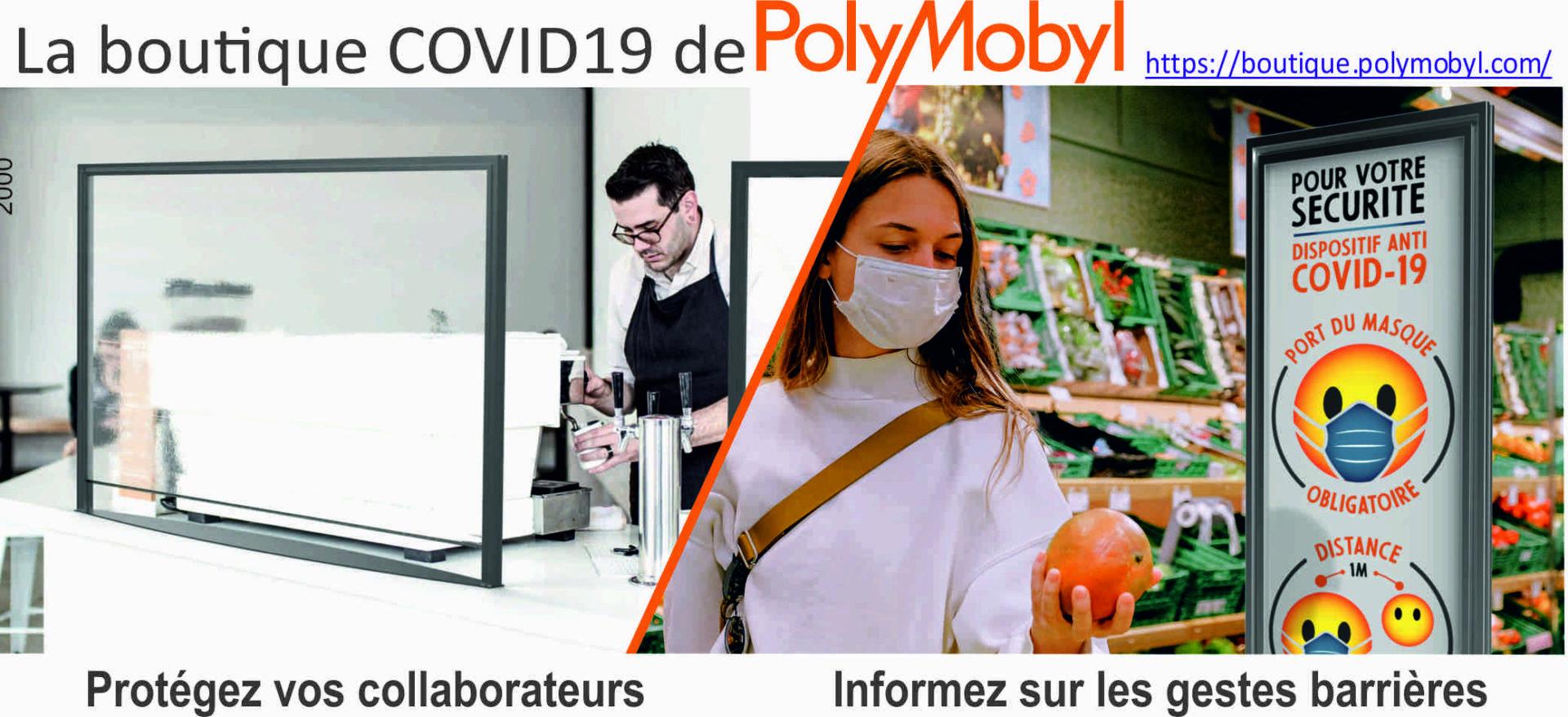la Boutique COVID 19 POLYMOBYL