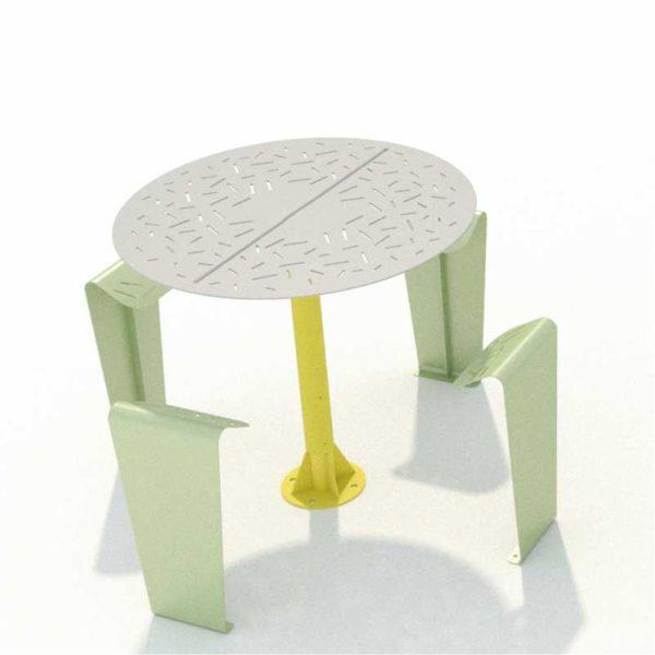 table-métallique