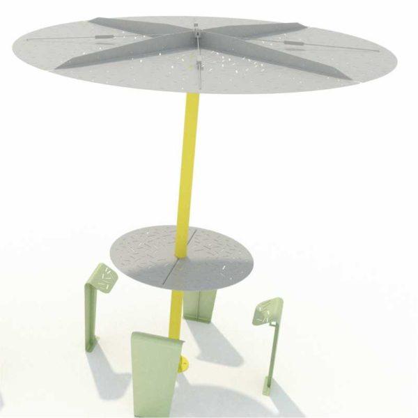 table-métallique-parasol